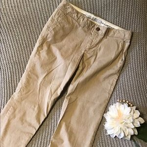 NEVER WORN. Khaki Ankle Pants